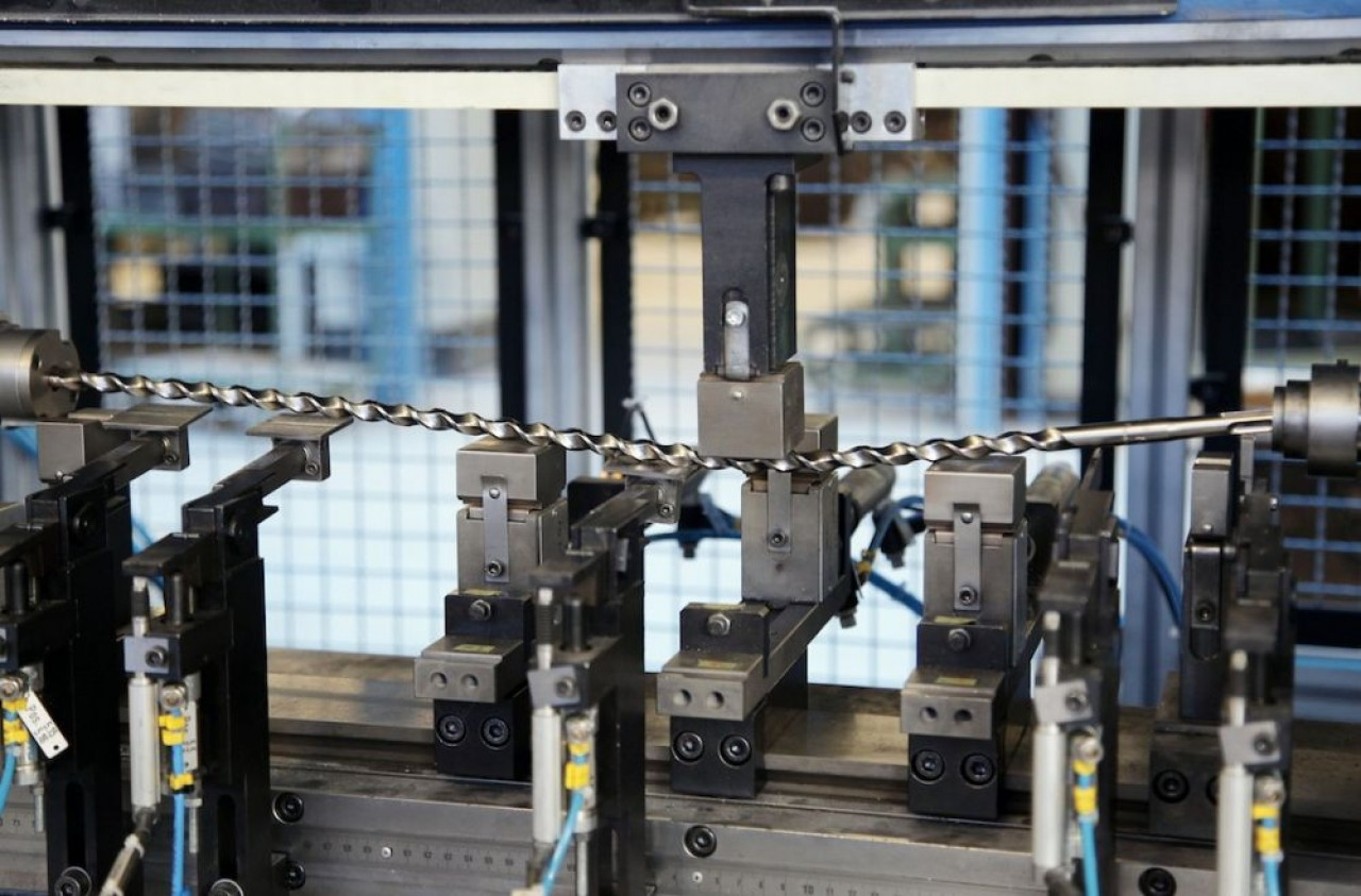 Diager fabrique des outils professionnels de perçage, essentiellement des forets en acier avec une tête en carbure de tungstène, aux 2/3 pour les professionnels du BTP.