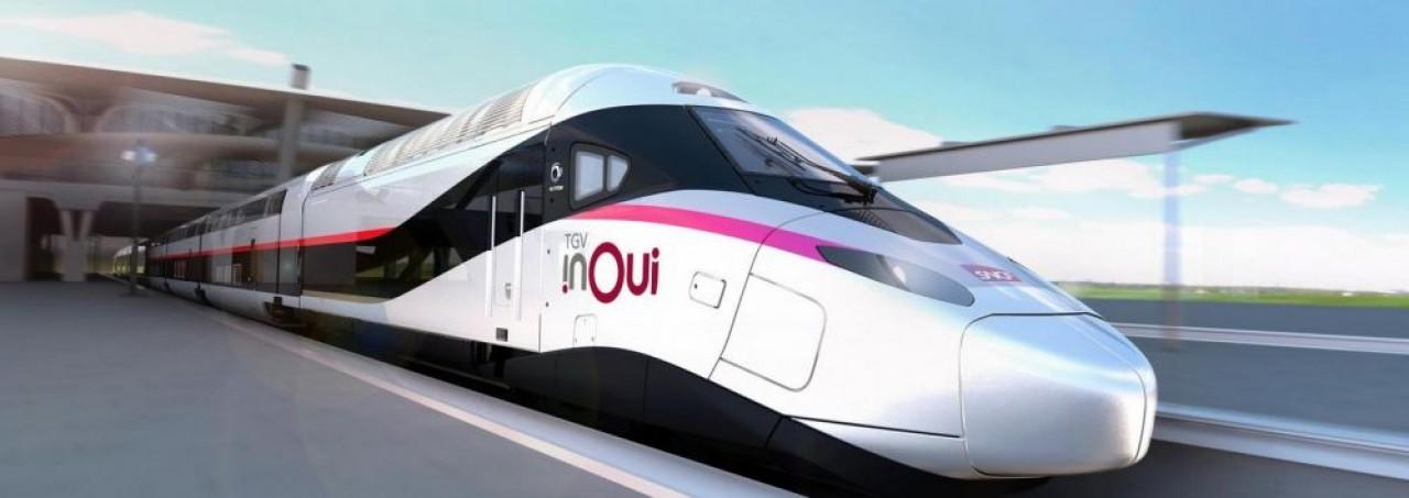 Le nouveau TGV co-conçu par Alstom et la SNCF sera assemblé à Belfort à partir de 2023. ©SNCF/Alstom