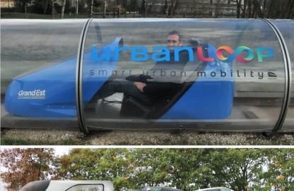 Mobilités de demain : Urbanloop réinvente les transports urbains et Symone imagine les trains de la route