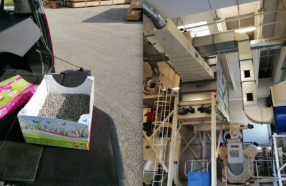 Agrobiothers surfe sur le petcare avec des produits écologiques, comme une très innovante litière pour chat