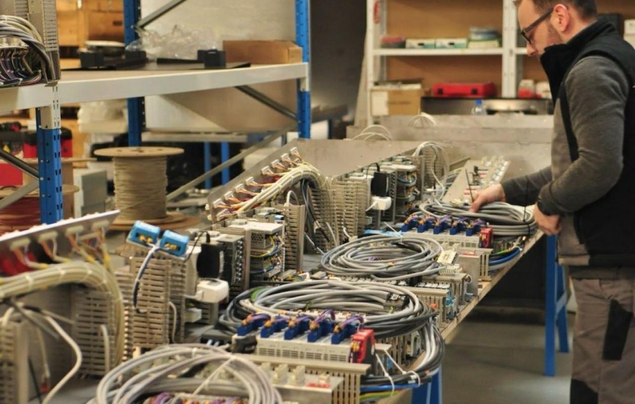 Le site d'assemblage d'Api Tech à Seichamps (photo), en Meurthe-et-Moselle, mis en service il y a un an, est complété par un atelier de tôlerie à Dombasle-sur-Meurthe, pour les carcasses des distributeurs jusqu'alors fabriqués en Pologne .©P. Bohlinger
