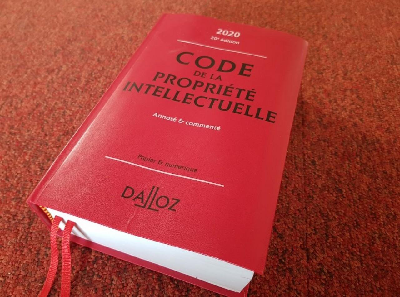 Le code de la propriété intellectuelle regroupe la plupart des anciennes lois régissant les deux branches de la propriété intellectuelle, que constituent la propriété industrielle et la propriété littéraire et artistique. © D.Guiu