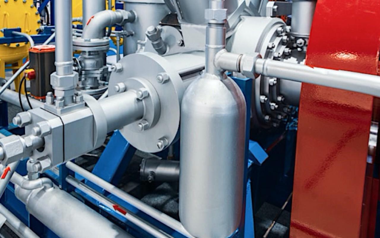 Eifhytec développe un compresseur d'hydrogène utilisant un effet thermique, une technologie qui permet de s'affranchir des contraintes liées à la compression mécanique, notamment des nuisances sonores, fuites, et d'usure des composants. © Eifhytec