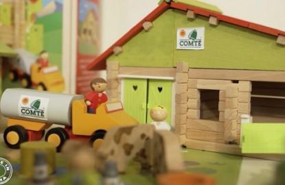 Le jouet en bois reste encore bien vivant dans le Jura