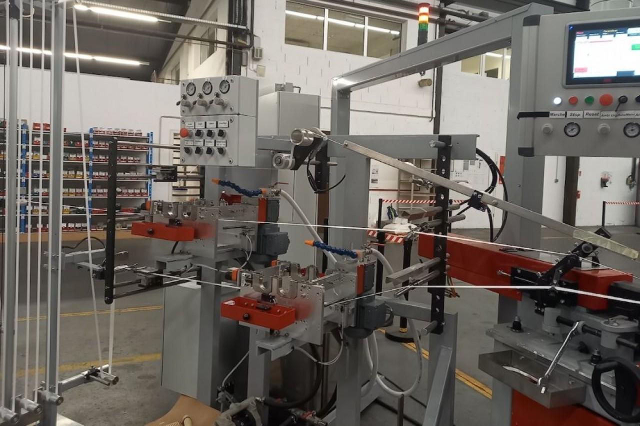 85% du chiffre d'affaires de Pakea, dans le Haut-Rhin, est issu de la fabrication de machines et lignes d'emballage. © Traces Ecrites