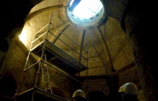 A Dijon, la cathédrale Saint-Benigne en pleine restauration pour faire de sa crypte un nouvel attrait touristique