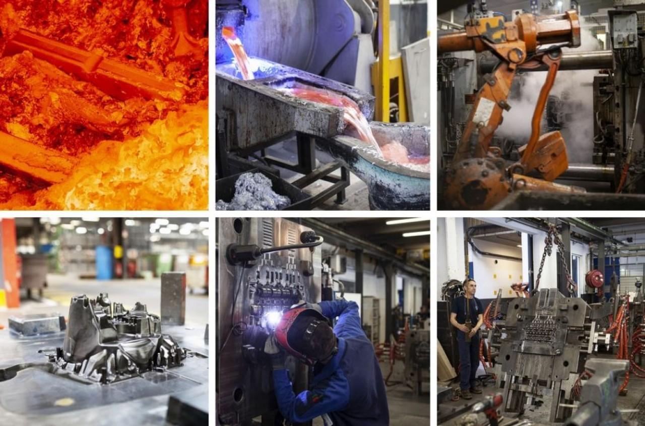 MBF Aluminium laisse sur le carreau 280 salariés et  36.000 m2 de locaux vacants à Saint-Claude, dans le Jura. © MBF