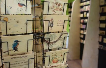 Du bois dont on fait les cartes postales avec Hironwoods dans le Jura