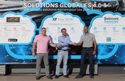 Les solutions logicielles Industrie 4.0 développées par The WiW à Nancy s'étendent au Luxembourg