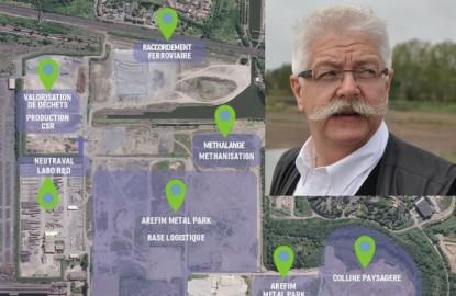 Cinq entrepreneurs accompagnent l'alsacien Beck dans la reconversion pour 170 millions d'euros d'une friche sidérurgique en Moselle