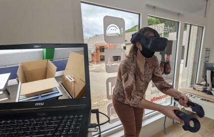 Temporis emballe le recrutement d'intérimaires chez Guillin en Franche-Comté grâce à la réalité virtuelle
