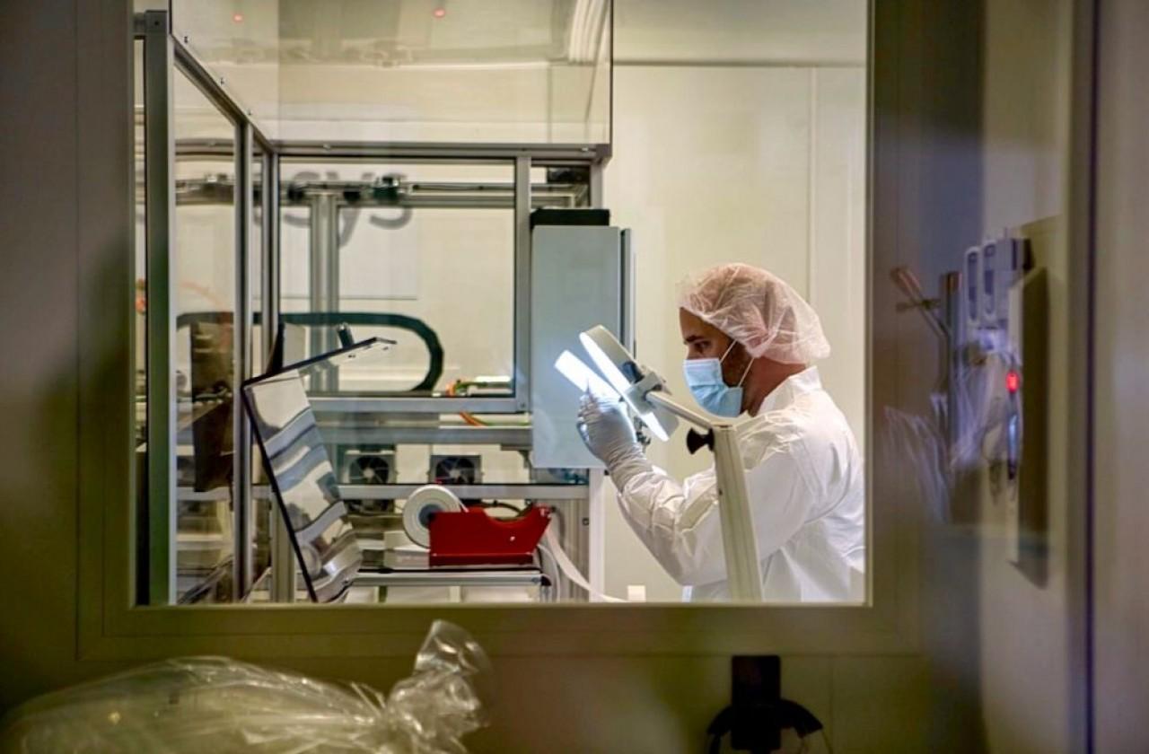Immunodiagnostic Systems (IDS) fabrique en Côte-d'Or, des automates d'analyse médicale. © Arnaud Morel