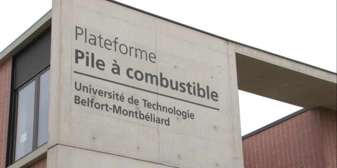 Inauguré ce jour, le banc d'essai HYBAN à Belfort, teste et caractérise des protopypes de piles à combustible jusqu'à l'homologatioin. © UTBM