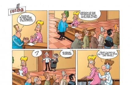 Les Fonctionnaires, épisode du tome 7 : en quête d'une bonne allocation