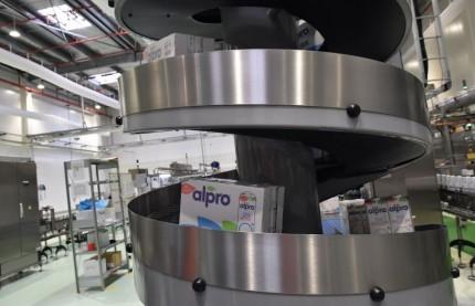Devant le succès des boissons végétales, Alpro investit 16,5 millions d'euros en Alsace