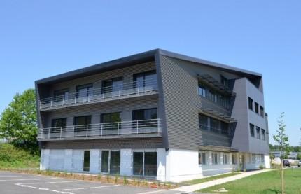 A Besançon, un immeuble de bureaux à énergie positive
