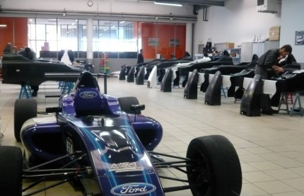 Mygale co-réalise une Formule 4  sur la technopole du circuit de Nevers Magny-Cours