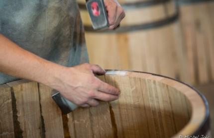 La tonnellerie de Mercurey utilise des bois de chênes du même tonneau