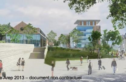 Besançon dessine un nouveau quartier à la gare Viotte
