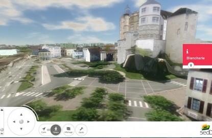 Virtuel City voit la ville en 3D
