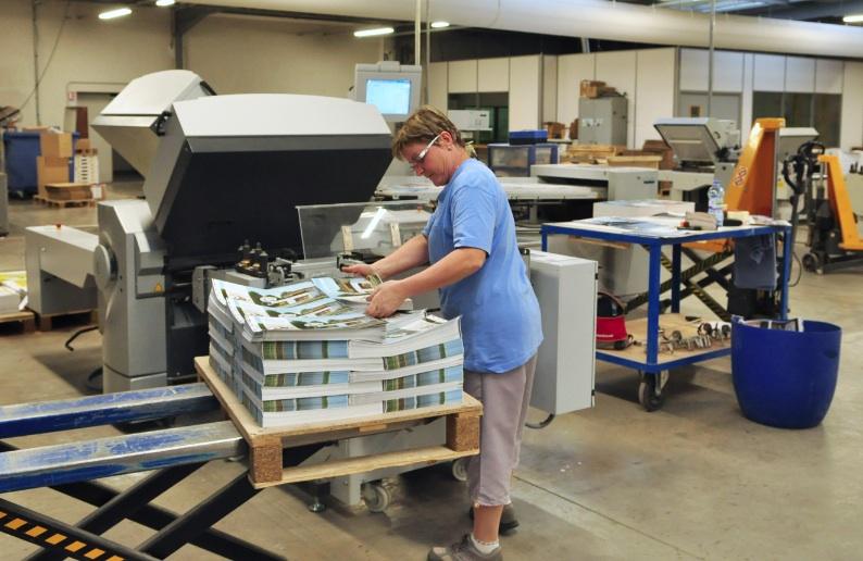 Le lorrain L'Ormont Imprimeur investit dans la « machine du