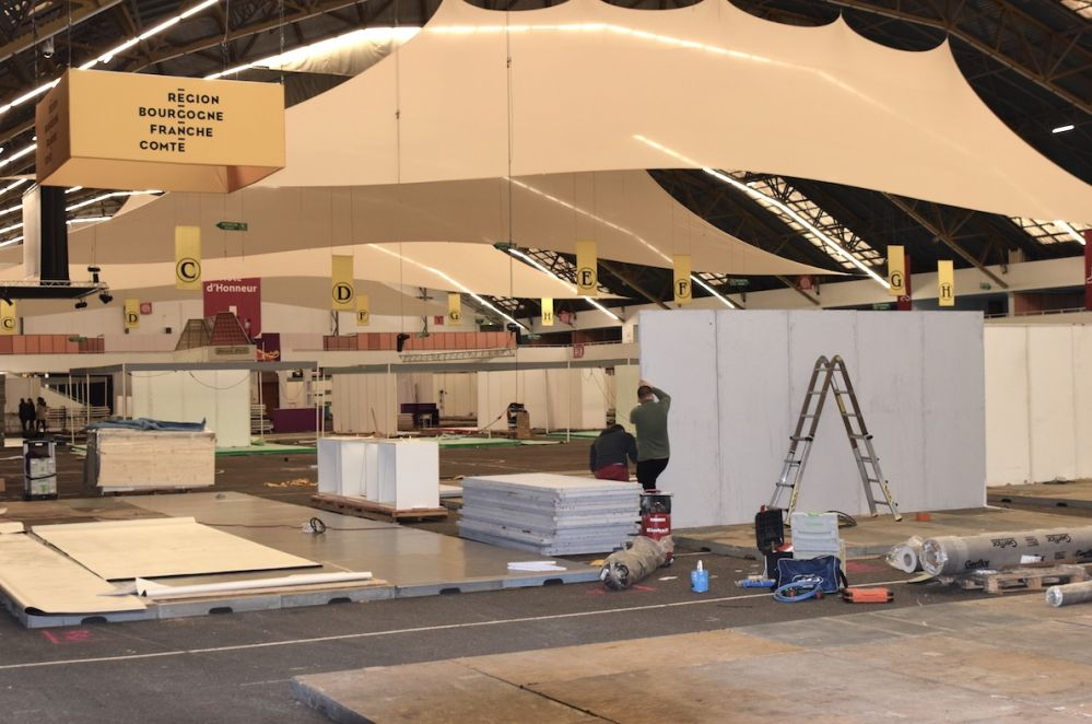 Dijon congrexpo fait valoir ses atouts d organisateurs d for Montage des stands