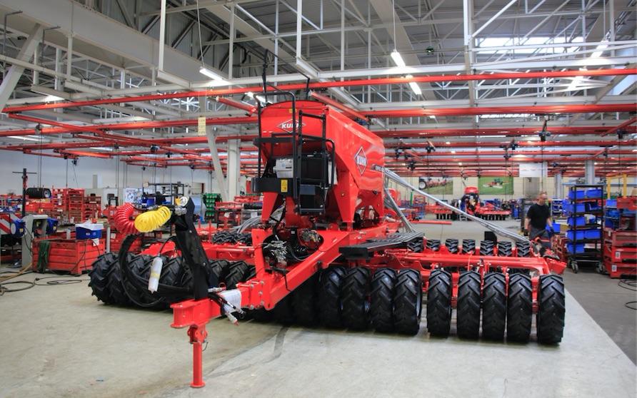 Le fabricant alsacien de machines agricoles kuhn annonce - Comptoir agricole bas rhin ...
