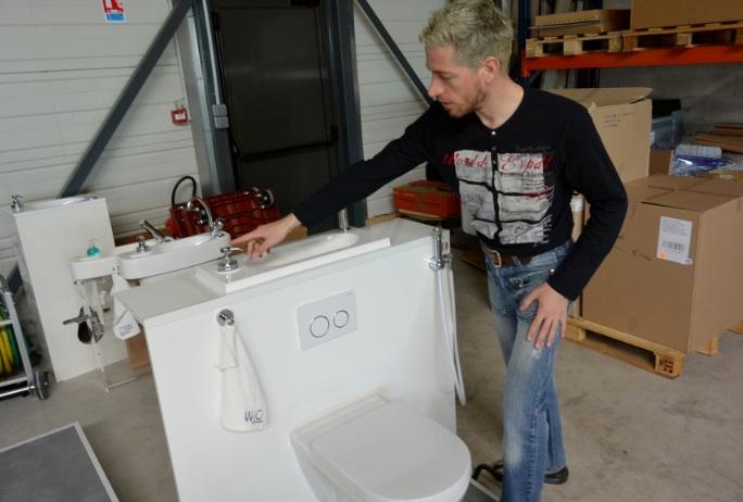 wici concept mise sur le web pour imposer ses lave mains wc. Black Bedroom Furniture Sets. Home Design Ideas