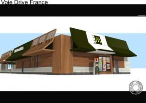 Nouvelle façade McDo