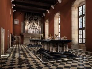 salle des tombeaux