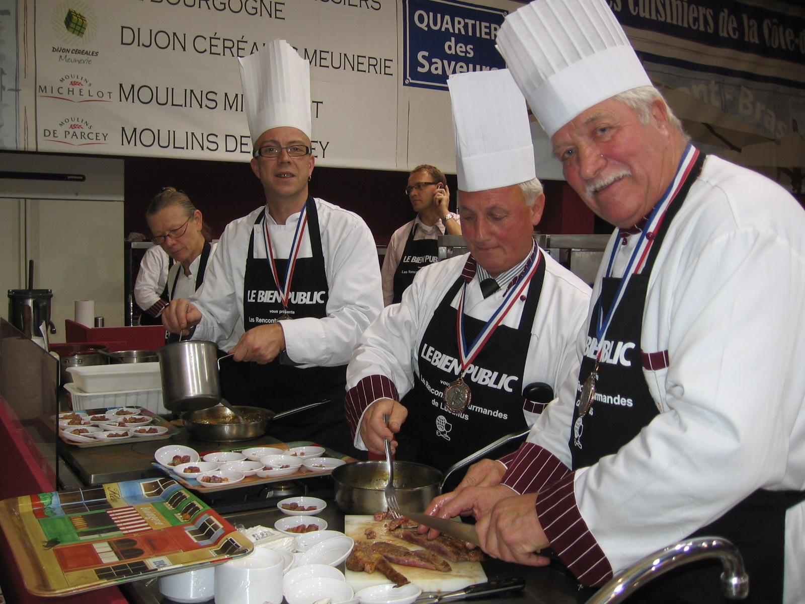 Les m tiers de bouche ont rendez vous la foire de dijon for Cuisinier 2010