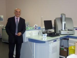 Hüseyin Firat, cadre de l'industrie pharmaceutique bâloise a créé Firalis en 2008. (Photo: C.Robischon)