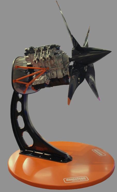 Le nivernais danielson signe avec ce moteur de drone son premier