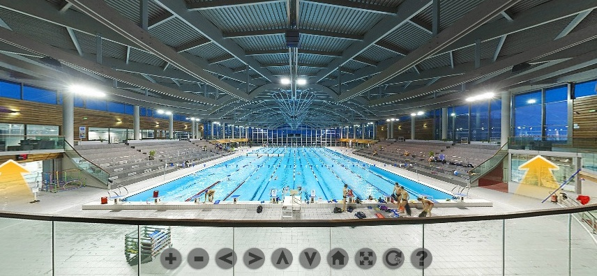 Photographic visiteur virtuel de google adresses for Piscine olympique dijon
