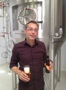 Marc Neyret, P-DG de la brasserie de Vézelay.