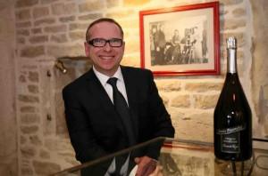 Philippe Chautard, quatrième génération à la tête de la maison viticole Louis Picamelot.