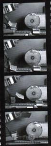 Apposée sur une ligne de fabrication, la caméra surveille les flux de production et restitue en temps réel les incidents des automates.