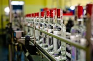 Belvédère possède un portefeuille de marques important. Ici la vodka Sobiesky.