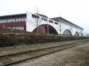 La nouvelle usine de Lejay-Lagoutte récemment construite sur l'une des dernières parcelles de la zone d'activités Cap Nord.