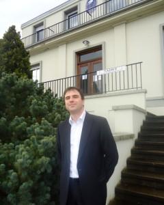 Sylvain Michel, le gérant de Sadef.