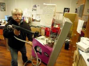 Guy Soyer, président d'Électro Peinture.