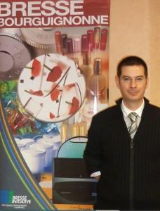 François Montagné, nouveau directeur de l'agence de développement économique Bresse Iniitative.