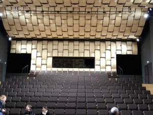 L'auditorium de 290 places du conservatoire.