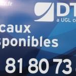 La nouvelle signature de DTZ va peu à peu remplacer l'ancien logo rouge.