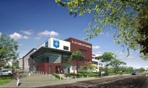 Le nouveau centre de formation de l'A.J. Auxerre a coûté 10 millions d'€, dont 7,2 millions à la charge des collectivités locales.
