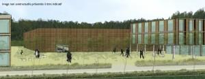 La ZAC de la gare TGV de Besançon-Franche-Comté : 25 ha dont l'urbanisation devrait démarrer fin 2013, début 2014.