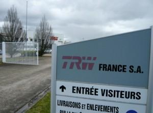 TRW fait partie du paysage industriel dijonnais et compte 148 salariés.