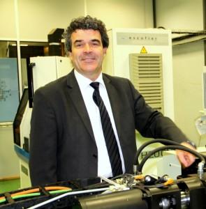 Eric Michoux, fondateur et président du groupe bourguignon Galilé.