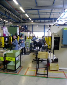 Les ateliers spécialisés de Technoland emploient 500 travailleurs handicapés dont 380 à la préparation de pièces pour PSA.