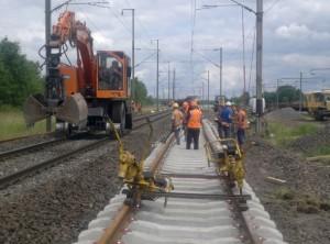 Dijonnaise de Voies Ferrées évolue sur le marché porteur de la rénovation de l'infrastructure ferroviaire.